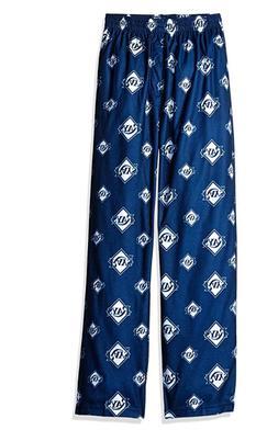MLB Tampa Bay Rays Boys Sleepwear All Over Print Pajama Pant