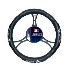 MLB Tampa Bay Rays Car Truck Suv Synthetic Leather Steering