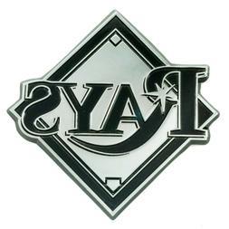 Fanmats MLB Tampa Bay Rays Diecast 3D Chrome Emblem Car Truc