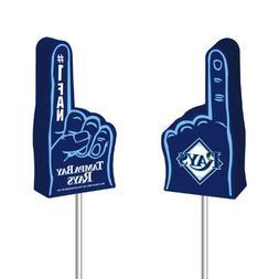 MLB Tampa Bay Rays Foam Finger Antenna Topper