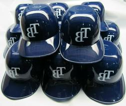 MLB Tampa Bay Rays Mini Batting Helmet Ice Cream Snack Bowls