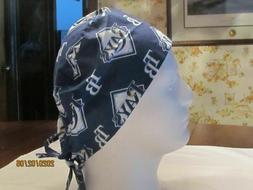 Handmade MLB Tampa Bay Rays Surgical Scrub Hats