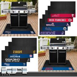 MLB Teams Barbecue BBQ Outdoor Patio Grill Floor Mat Rug Uni