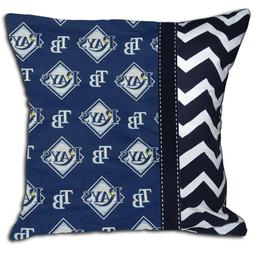 NEW MLB TB Tampa Bay Rays Baseball Decorative Throw Pillow