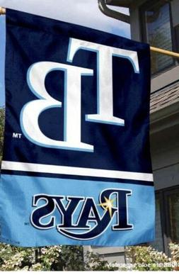 "NEW TAMPA BAY RAYS MLB BIG MLB FAN FLAG - 36""x 47"""