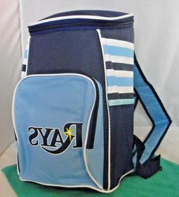 NEW Tampa Bay Rays Pepsi Insulated Zip Cooler Backpack Large
