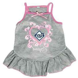 NEW TAMPA BAY RAYS PET DOG PINK TOO CUTE SQUAD CHEERLEADER J