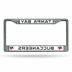NFL Tampa Bay Buccaneers Metal License Plate Frame
