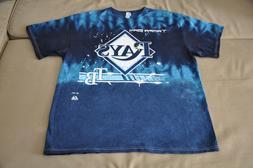 NWOT Tampa Bay Rays Men's Tie Dye T-Shirt  Shirt Jersey Hat
