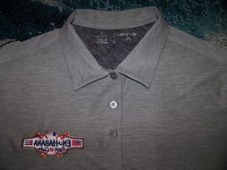 Antigua Polyester Golf Polo Shirt EN LA HABANA TAMPA BAY RAY