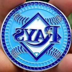 PREMIUM MLB Tampa Bay Rays Poker Card Protector Coin Golf Ma