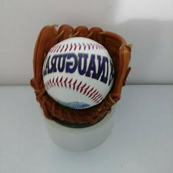 1998 Inaugural Season Tampa Bay Devil Rays Baseball and Mini