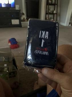 Rare Akinori Iwamura New In Bag Wristbands Tampa Bay Rays De