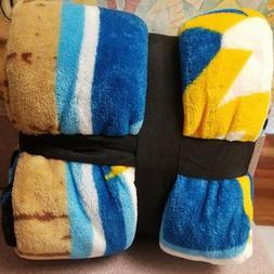 Raschel Super Plush Throw Blanket Tampa Bay Rays 20th ANNIVE