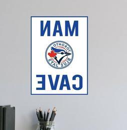 Rays Wall Decal Tampa Bay Logo MLB Sport Baseball Man Cave H