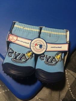 Skidders Tampa Bay Rays mlb Baby Non-skid Footwear Shoe Size
