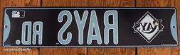 Street Sign Tampa Bay Rays Rd. MLB Lic. Baseball full colorf