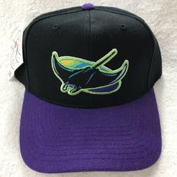 Tampa Bay Devil Rays THROWBACK 90's Ball Cap. NWT.  MLB Sn