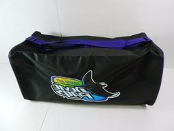 MLB Tampa Bay Devil Rays Tote Gym Duffel Bag Black & Purple