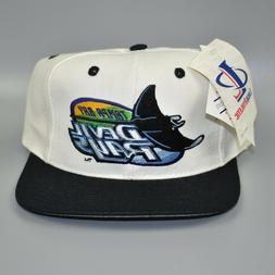 Tampa Bay Devil Rays Logo Athletic Vintage 90's MLB Wool Sna