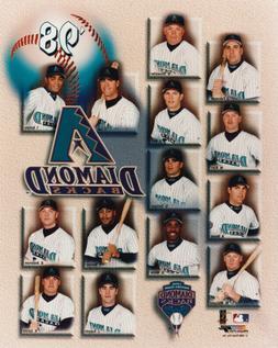 Tampa Bay Evil Rays 1998 Team Composite 8x10 Photo Matt Will