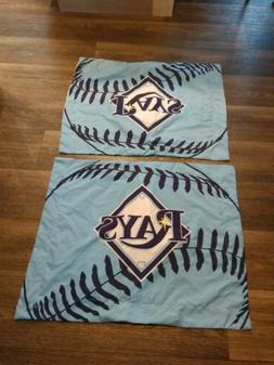 Tampa Bay Ray's Pillow Sham Covers Mlb Baseball