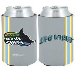 Tampa Bay Rays 2-PACK CAN Retro THROWBACK Koozie Neoprene Ho