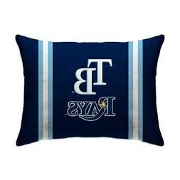 "Tampa Bay Rays 20"" x 26"" Plush Bed Pillow - Blue"