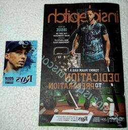 Tampa Bay Rays 2019 Inside Pitch Magazine Issue #2 Tommy Pha