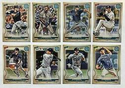 Tampa Bay Rays 2020 Topps Gypsy Queen Base Team Set *8 cards