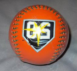 Tampa Bay Rays 20th Anniversary Rawlings Orange Baseball Tea