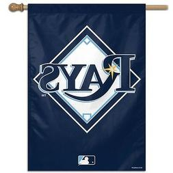 """TAMPA BAY RAYS 28""""X40"""" BANNER FLAG BRAND NEW WINCRAFT"""