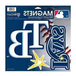 Tampa Bay Rays WinCraft 3-Pack Car Magnets