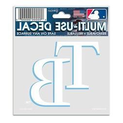 "Tampa Bay Rays 3""x4"" Car Decal  MLB Static Cling Auto Emblem"