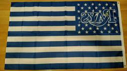 Tampa Bay Rays 3x5 American Flag. US seller. Free shipping w