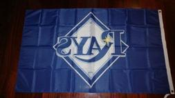 Tampa Bay Rays 3x5 Flag. US seller. Free shipping within the