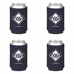 tampa bay rays 4 pack can koozie