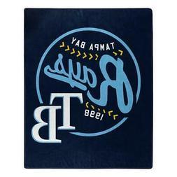 Tampa Bay Rays 50x60 Raschel Moonshot Design Blanket  MLB Th