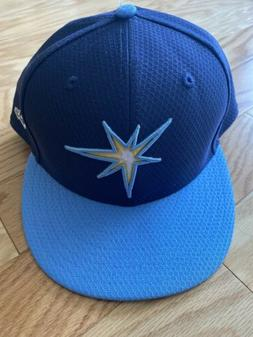 Tampa Bay Rays New Era 5950 Batting Practice Hat 7 7/8