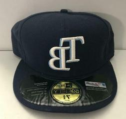 TAMPA BAY RAYS: 59FIFTY ; On Field Ball Cap Size 7 5/8 Fitte