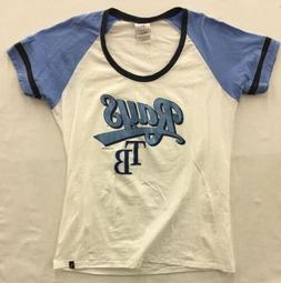 Tampa Bay Rays 5th & Ocean MLB Women's Athletic Foil T-Shi