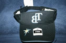 TAMPA BAY RAYS ADJUSTABLE SUN VISOR CAP HAT MLB ONE SIZE FIT