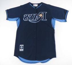 Tampa Bay Rays Majestic Authentic Cool Base MLB Baseball Jer
