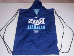 "Tampa Bay Rays Baseball Backpack Joe Maddon 18"" X 14.5"" doub"