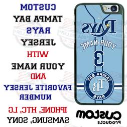 TAMPA BAY RAYS PERSONALIZED PHONE CASE COVER FITS iPHONE SAM