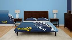 Tampa Bay Rays Baseball Fan-made Twin Duvet Cover & pillow s