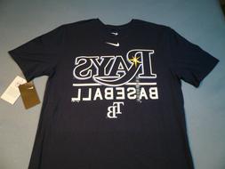 Nike Tampa Bay Rays Baseball MEDIUM BRAND NEW t-shirt athlet