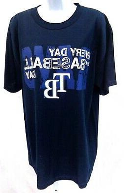 Tampa Bay Rays Baseball Short Sleeve T-Shirt Navy