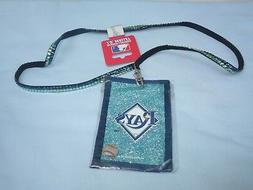 TAMPA BAY RAYS   Beaded LANYARD I.D. WALLET    by Rico   NIP