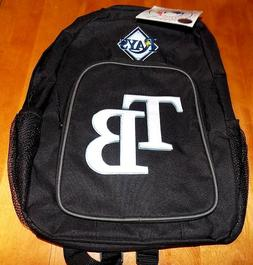 TAMPA BAY RAYS Black Southpaw Backpack MLB Baseball Back Pac